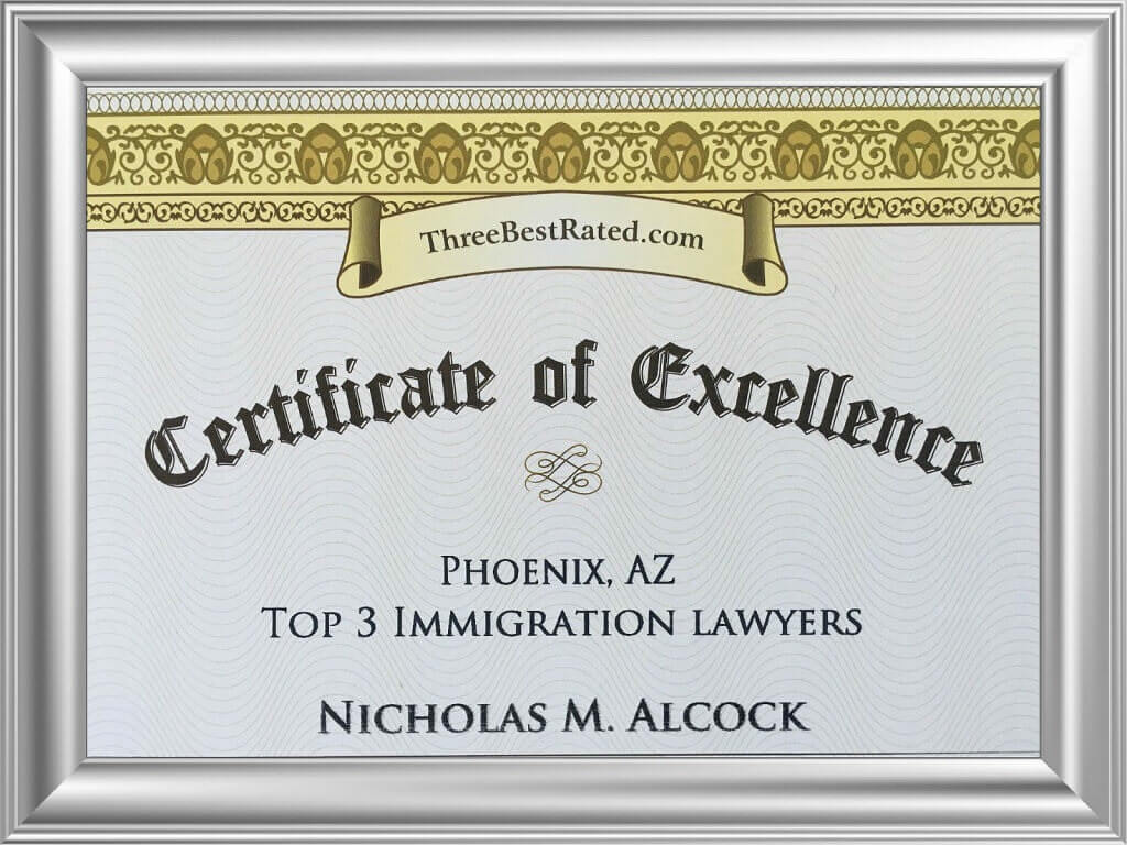immigration attorney award