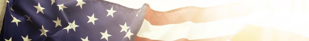 aaa american flag banner