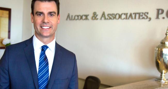 Attorney Nick Alcock