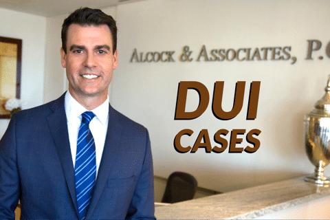 DUI Law in Arizona Table