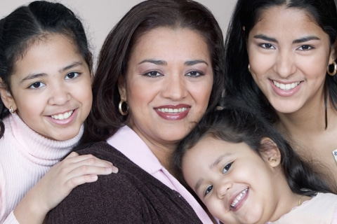 Mother and Children - Child Custody Lawyer